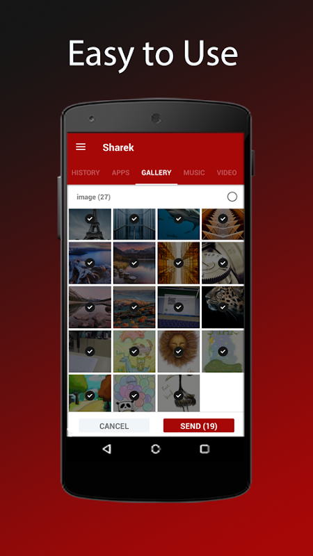 Sharek - File Transfer screenshot 1