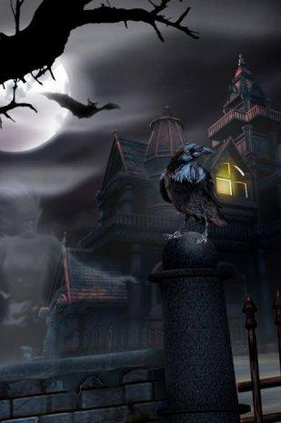 Haunted House Live Wallpaper Screenshot 4