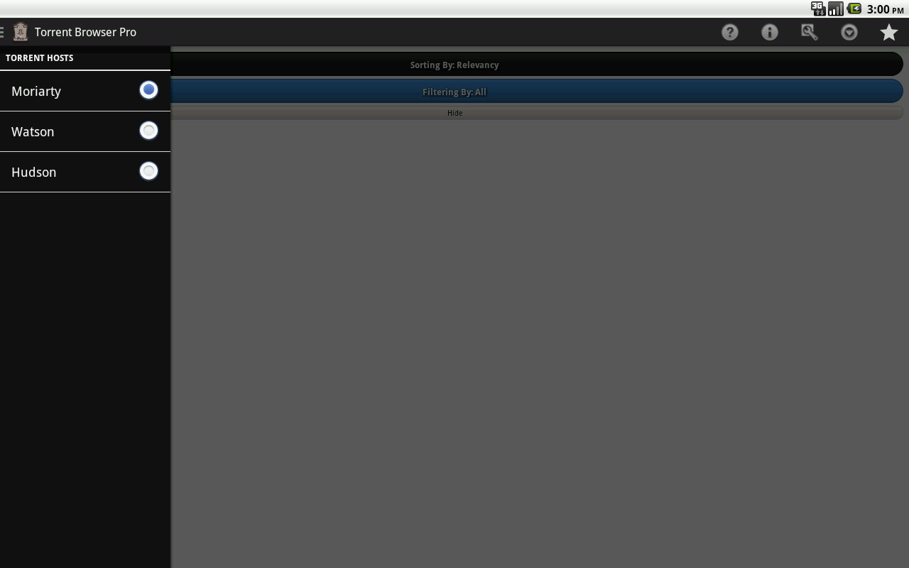 Torrent Browser Pro screenshot 1