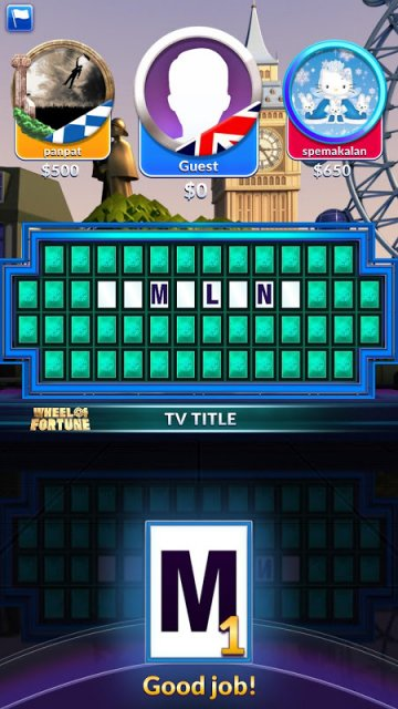 free wheel of fortune apps