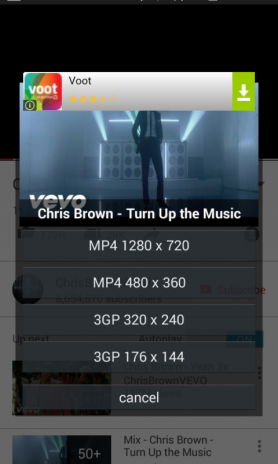 Youtube Videos Downloader App for Android ( Download Youtube Videos