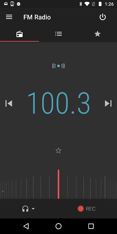FM Radio screenshot 1