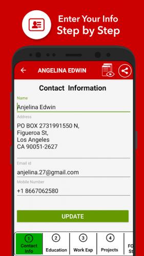 My Resume Builder Cv Free Jobs 7 4 Download Apk Android Aptoide