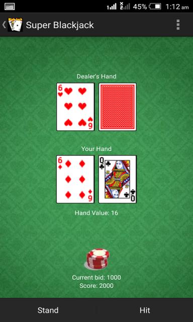 super 4 blackjack