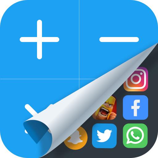 Ocultar Aplicativos: 2 contas; aplicativo oculto;