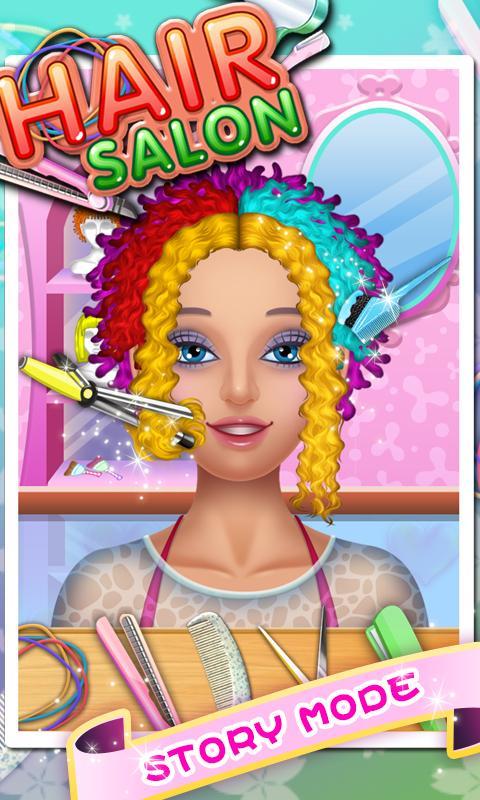Hair Salon Fun Games 3 0 10 Download Android Apk Aptoide