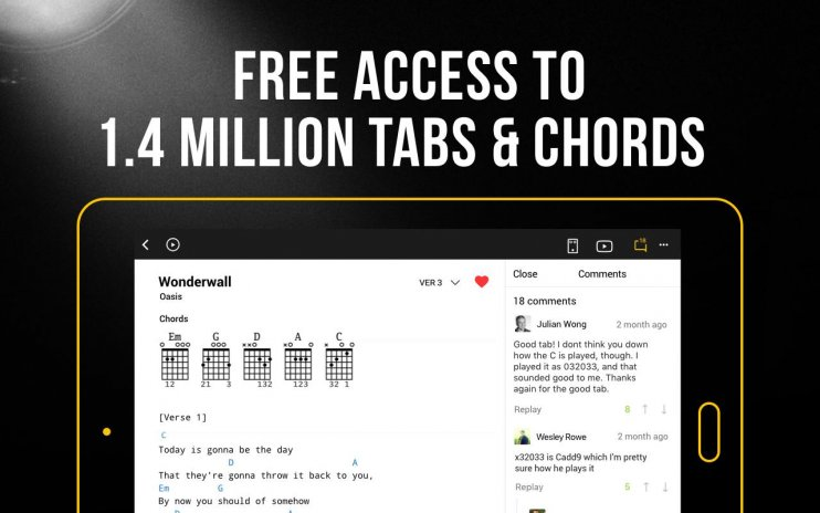 Ultimate Guitar Tabs & Chords 4.7.1 Download APK for Android - Aptoide