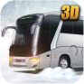 winter bus simulator 3d ไอคอน
