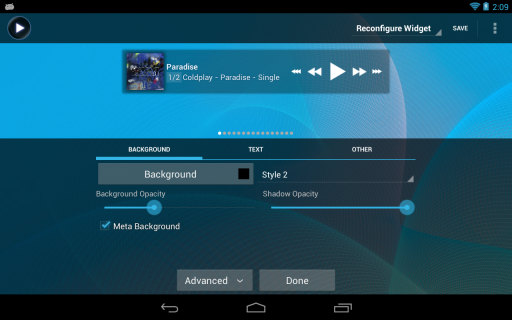 Poweramp screenshot 12
