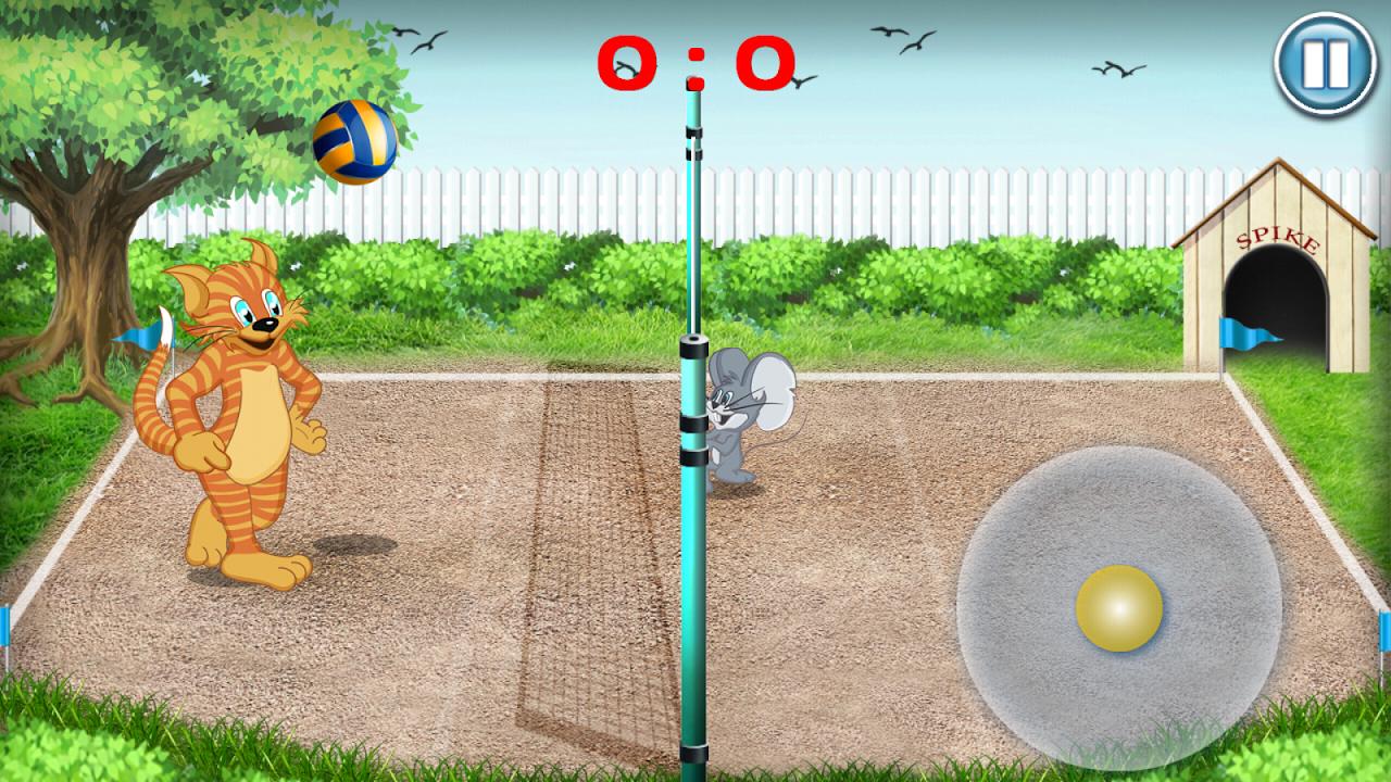 Tom Volleyball screenshot 1