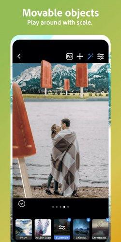 Adobe Photoshop Camera: Photo Editor & Lens Filter screenshot 1