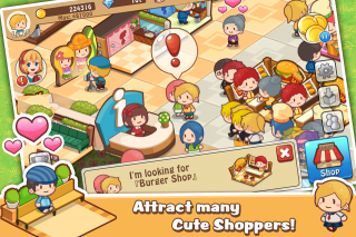 Happy Mall Story: Sim Game Screenshot