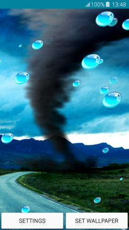 Live Wallpapers Tornado Screenshot 3