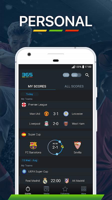 365Scores - Live Score screenshot 6