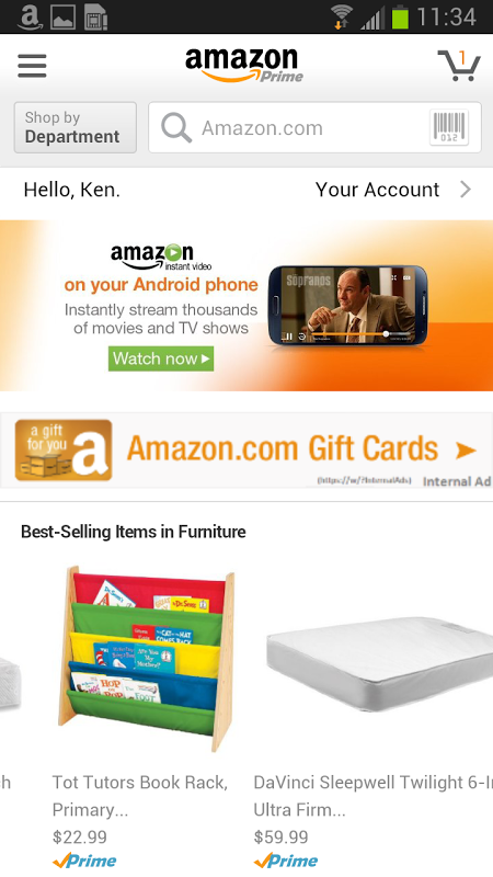 Amazon screenshot 6