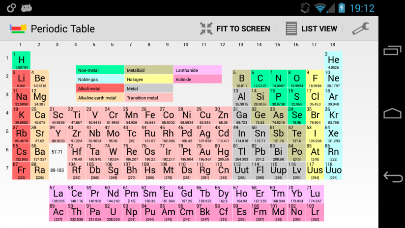 periodic table of elements screenshot 15 - Download Periodic Table Full Version Apk