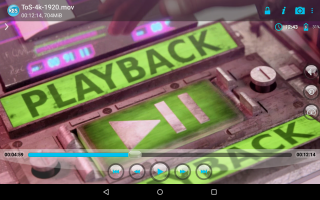 BSPlayer FREE Screen