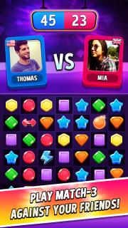 Match Masters - PVP Match 3 Puzzle Game screenshot 1