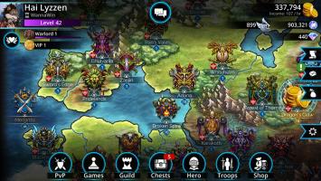 Gems of War - Match 3 RPG Screen