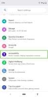 Android Accessibility Suite Screen