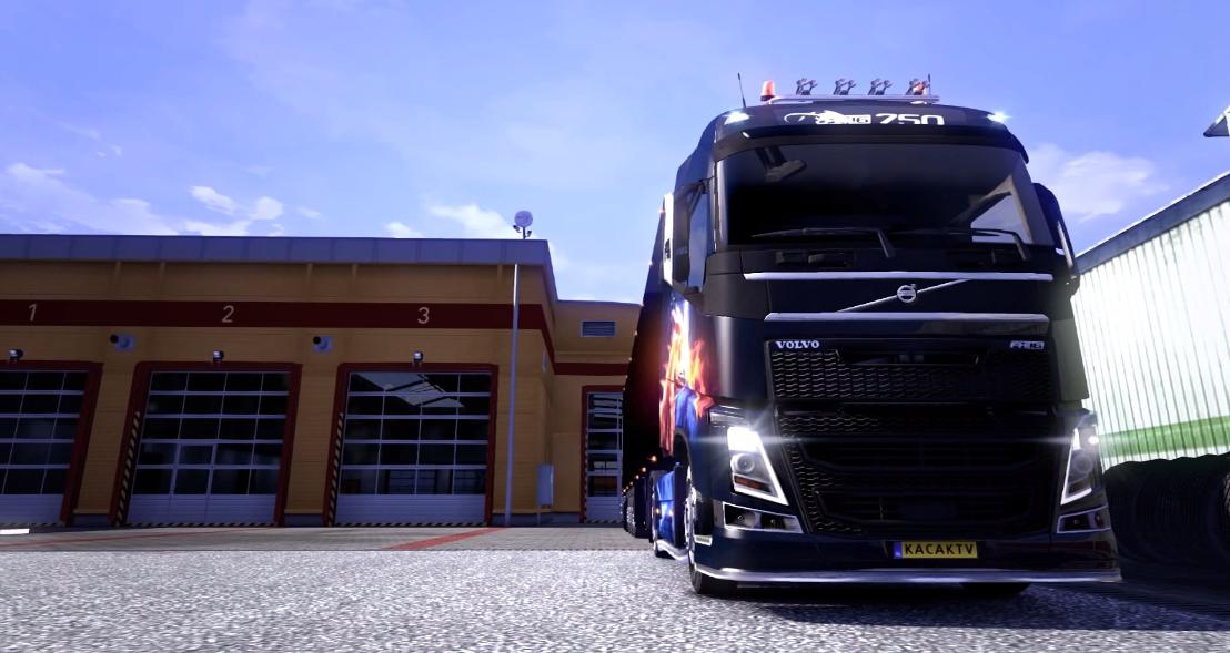 Truck Simulator 3D screenshot 1