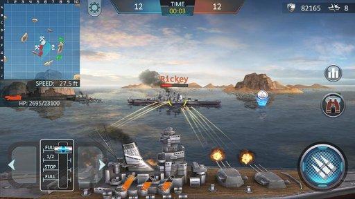 Warship Attack 3D screenshot 1
