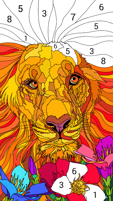 Happy Colour – Colour by Numbers screenshot 2