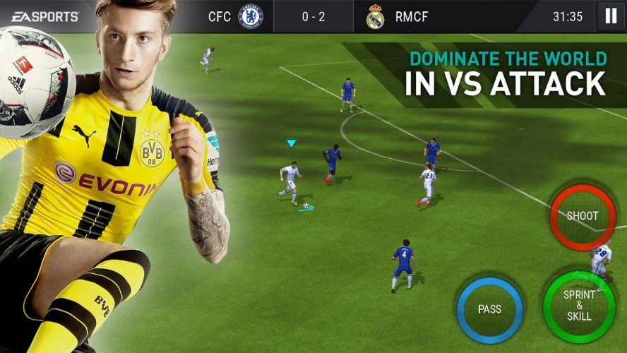 FIFA Futebol screenshot 1