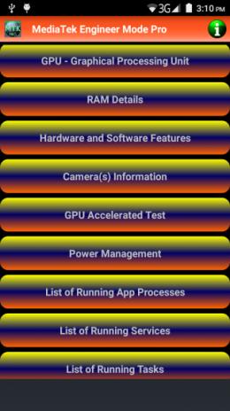 MediaTek Engineer Mode Pro 1 9 Download APK for Android