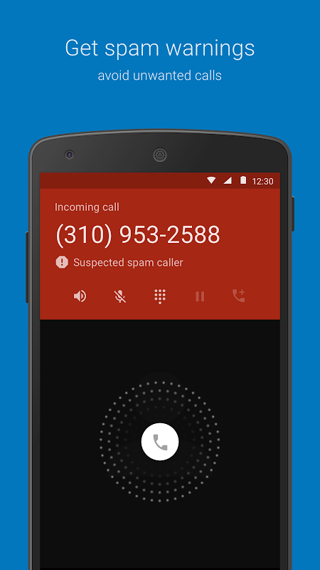 Telefone screenshot 1
