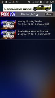 Fox 2 St Louis Weather screenshot 4