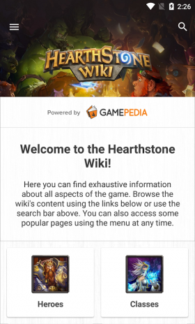 Hearthstone Wiki 1 0 0 Download APK for Android - Aptoide