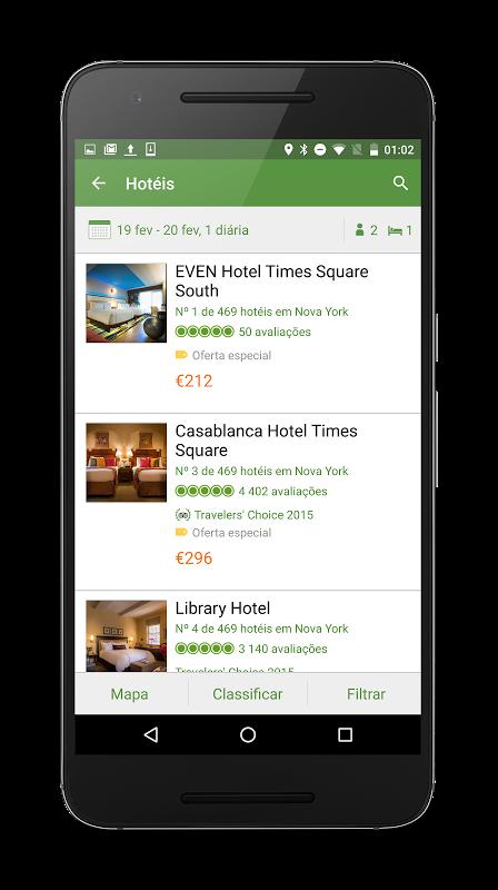 TripAdvisor: hotéis, restaurantes, voos, atrações screenshot 2