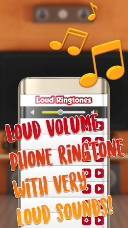 loud tones for android