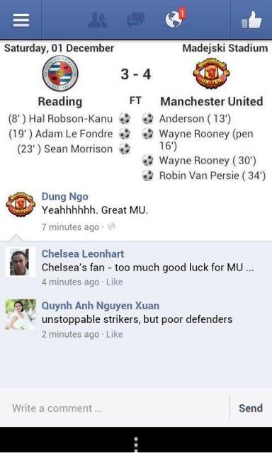 score premier league