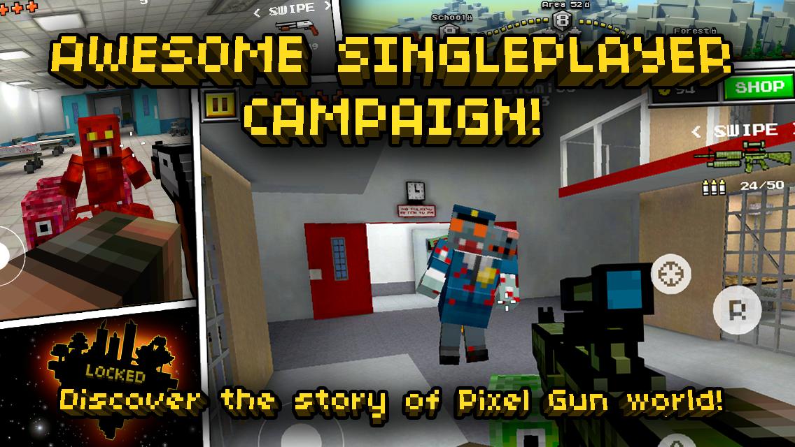 Pixel Gun 3D non è unapp di appuntamenti la mia ex fidanzata sta uscendo con un brutto ragazzo