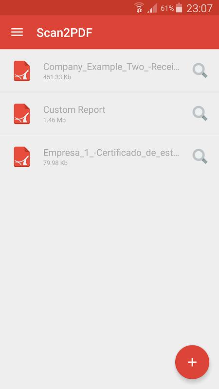 Scan2PDF: Easy PDF Scanner PRO screenshot 1