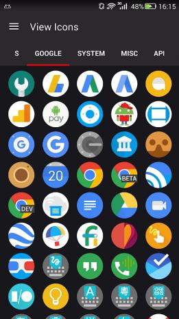 Google Pixel Icon Pack - Premium Android