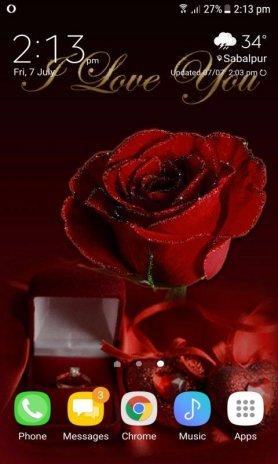 valentine gift live wallpaper screenshot 3