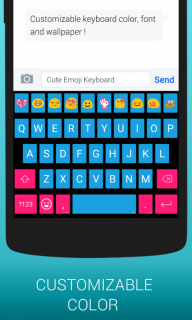 Emoji Keyboard - Kitkat,Smiley screenshot 4