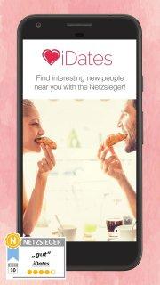 iDates - Chat, Flirt with Singles & Fall in Love screenshot 1