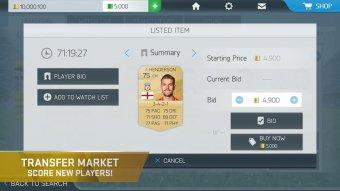 FIFA 16 UT Screenshot
