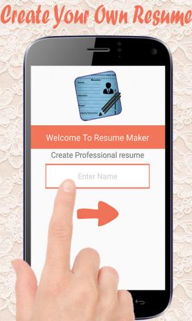 cv maker resume maker screenshot 1