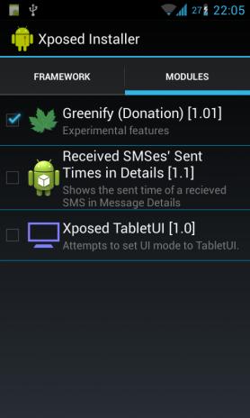 greenify donation apk