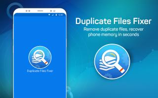 Duplicate Files Fixer Screen
