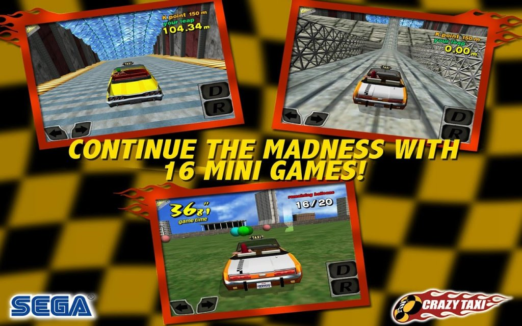 crazy taxi online free