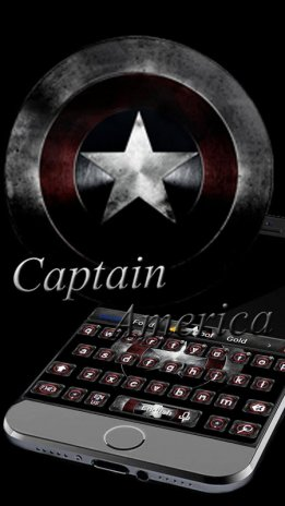 Captain America Keyboard theme 10001002 Download APK for Android