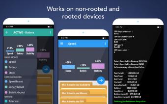 Root Booster Screenshot