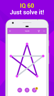1LINE – One Line with One Touch screenshot 1