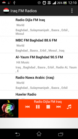 f3cd95b98 تحميل APK لأندرويد - آبتويد Iraq FM Radios2.0
